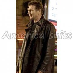 Taken 2 Liam Nesson Celebrity Leather Jacket