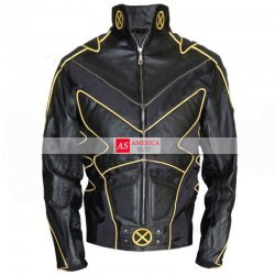 The Last Stand Wolverine Motorcycle Leather Costume