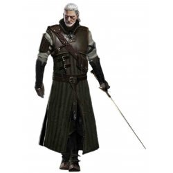 The Witcher 3 Wild Hunt Geralt Bear leather Costume