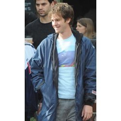 Under The Silver Lake Andrew Garfield Blue Coat