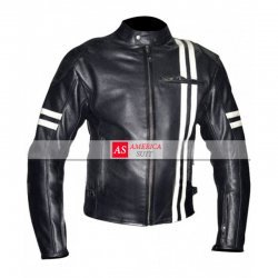 Vintage Riding Motorcycle Cafe Racer Leather Jacket