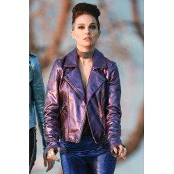 Vox Lux Natalie Portman Purple Jacket