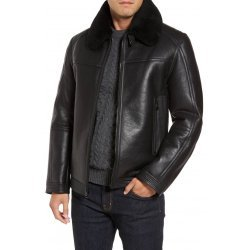 Genuine Shearling Warm Leather Jacket