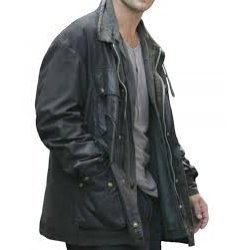 Breaking And Entering Will Francis Black Leather Jacket