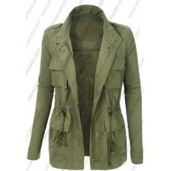 Women Army Style Jacket