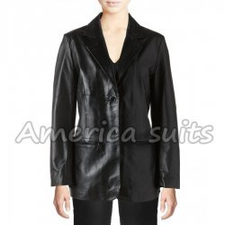 Womens Excelled Nappa Leather Jacket