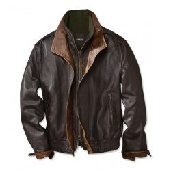 Merino Shearling Men Leather Jacket