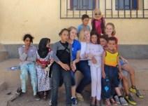 AUA volunteers and Tarmilaat children.