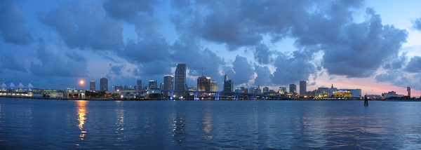Panorama Downtown Miami