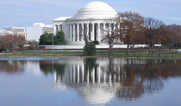 President Jefferson Memorial in Washington D.C.