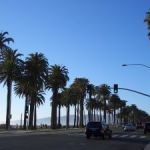 der Santa Monica Boulevard in Los Angeles