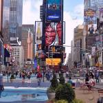 Bandaraya New York Times Square