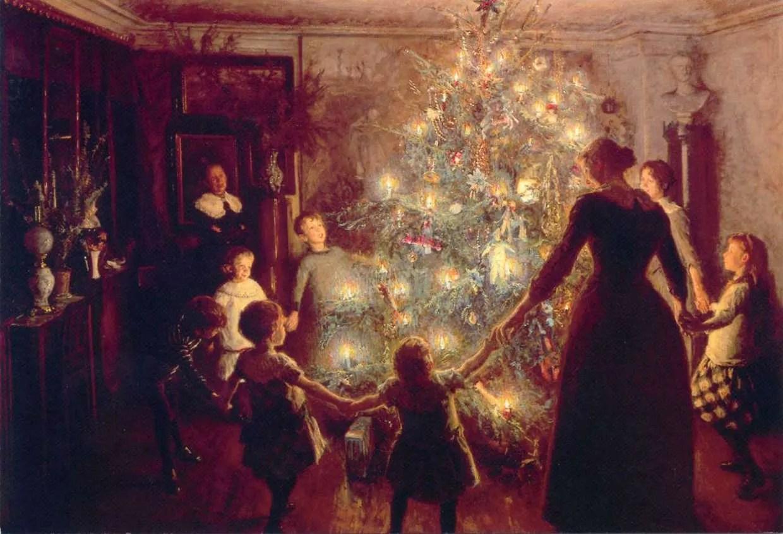 Jesus y el significado del árbol de navidad