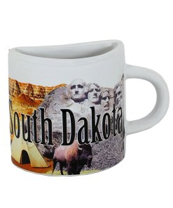 South Dakota Mug Magnet