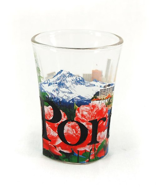 Portland Shot Glass