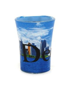 Detroit Shot Glass