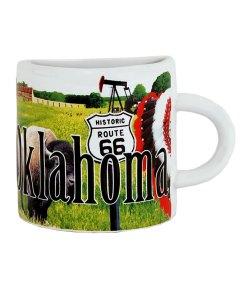 Oklahoma Mug Magnet