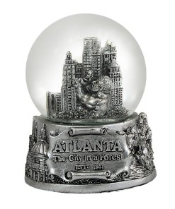 Atlanta 65mm Snow Globe