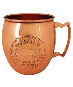 Wyoming Copper Mule Mug