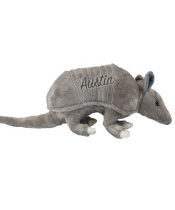 "Austin Armadillo 9"" Plush Side View"