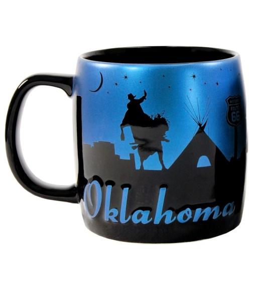 Oklahoma Night Sky Mug
