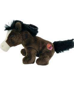 "Arizona Horse 4"" Clip on Plush Side View"