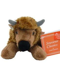 "Colorado 7"" Plush Bison Front View"