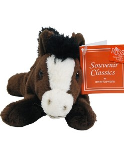 "Arizona 7"" Plush Horse Front View"