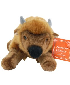 "Colorado 9"" Plush Bison Front View"