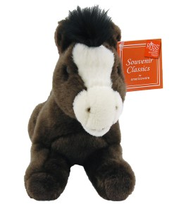 "Arizona 9"" Plush Horse Front View"