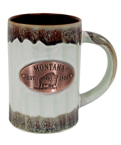 Montana Copper Medallion Green Mug
