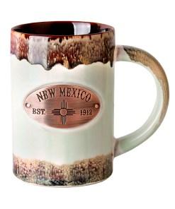 New Mexico Copper Medallion Mugs