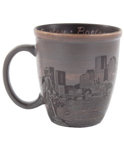 Boston Sketch Art Mug