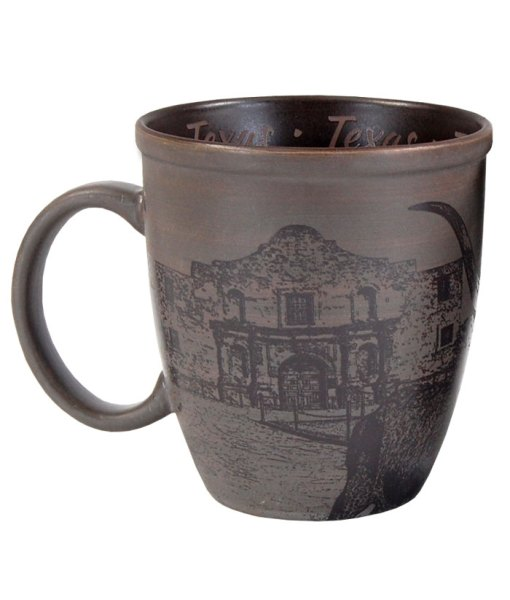 Texas Sketch Art Mug