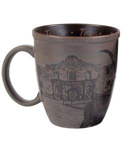 Texas Sketch Art Mug