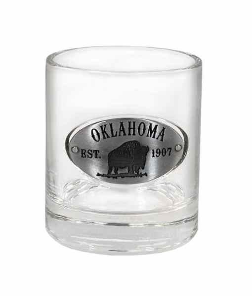 Oklahoma Whiskey Glass
