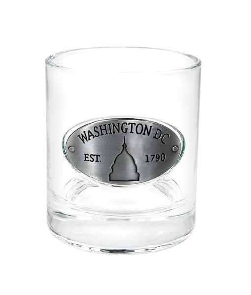 Washington DC Whiskey Glass
