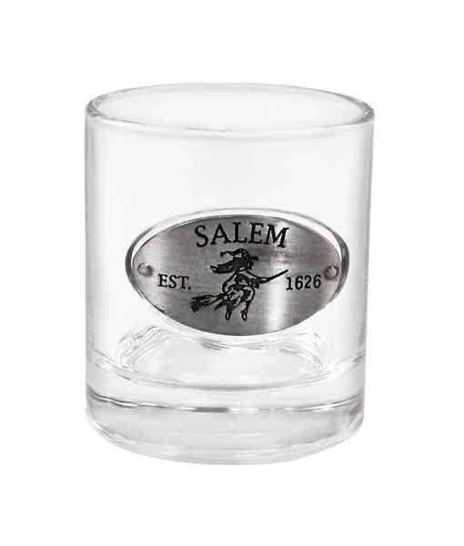 Salem Emblem Whiskey Glass