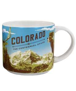 Colorado Stack Mug Front Side
