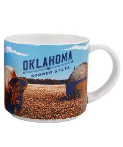 Oklahoma Stack Mug Front Side