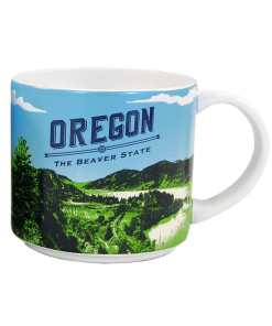 Oregon Stack Mug Front Side