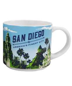 San Diego Stack Mug Front Side