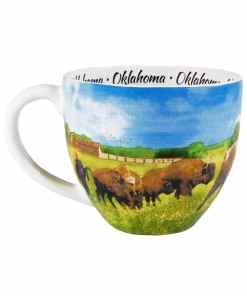Oklahoma Watercolor Mug