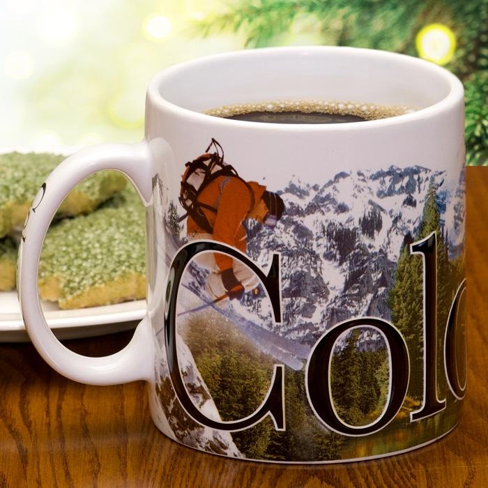 Colorado Mug with cookies