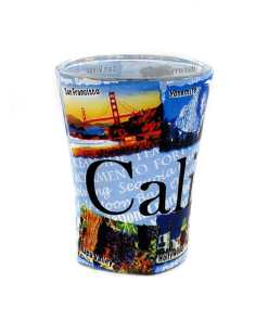 California Shot Glass Front