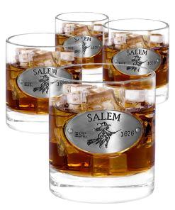 Salem 4 Whiskey Glasses