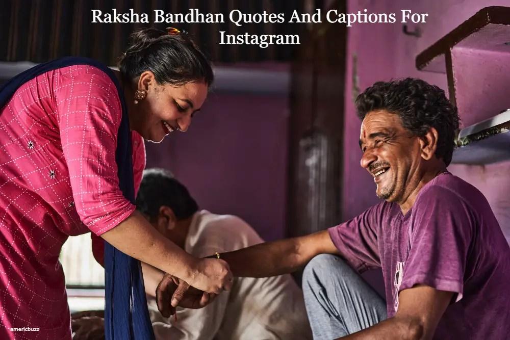 Raksha Bandhan Quotes And Captions For Instagram