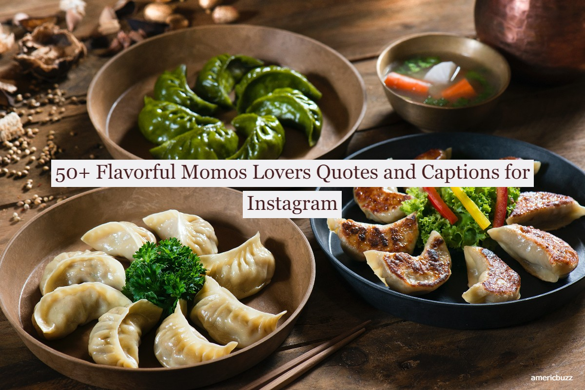 50+ Flavorful Momos Lovers Quotes and Captions for Instagram