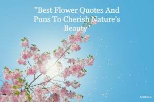 Best Flower Quotes And Puns To Cherish Nature's Beauty