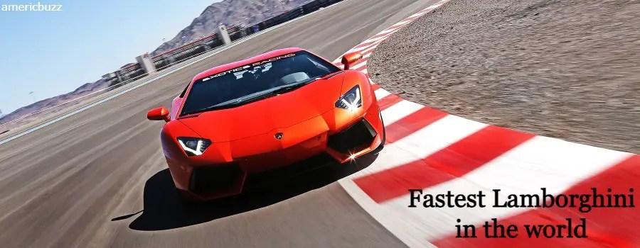 Latest Top 5 fastest Lamborghini in the world (2021)